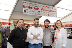 Manel Romero, Vicent Marzà, Nacho Larraz i Lola Carrasco 30/04/2017