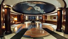 110/365: Logan Airport Floor Map, Hyatt Regency Boston Harbor (Friday, April 21st)