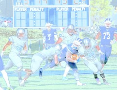 Football in pastel (stephencharlesjames) Tags: college sports football sport ncaa middlebury vermont