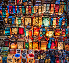 Lamps In Cairo Bazaar (Stuck in Customs) Tags: cairo egypt pyramids sphinx historical manmade ratcliff stuckincustomscom trey treyratcliff horizontal colour color desert dunes walking orange yellow purple black sand mountain hdr hdrtutorial hdrphotography hdrphoto outdoor outdoors outside people person lonely sony january 2017 p2017 ilce7rm2