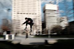 Airborne (samrodgers2) Tags: skate skateboard air southbank motion panning
