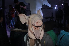 Oh puerco (bransilva) Tags: puerco marrano cerdo fiesta mexico pork mascara mask costume party week day halloween dead die colors