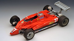 Ferrari126C2_01 (RoscoPC) Tags: ferrari 126c2 gilles villeneuve f1 formula one lego moc rc controlled power function steering suspensions ground effect turbo turbocharged