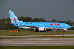 Boeing 737-86N(WL) NEOS I-NEOU (NTG842) Tags: boeing 73786nwl neos ineou celta vigo manchester united football