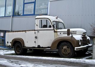 1950s FORD Köln V8 Ex-Ambulance