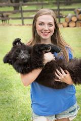 Taylor & Nala (MissKaylaBrooke) Tags: german sheperd dog puppy portrait
