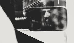 The One (Eleni Maitou) Tags: nikon nikond90 nocolor portrait man mirror monochrome distortion noise reflection