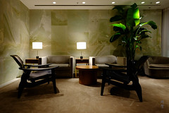 Alcove seating (A. Wee) Tags: cathaypacific thepier firstclass airport lounge hkg hongkong 国泰航空 香港 机场 中国 china