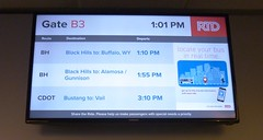 P1040835k (R. W. Rynerson) Tags: denver union station amtrak thruway bus coach trump transit transport transportation budget 2017 2018 sign signage buffalo gunnison alamosa vail colorado co wy