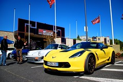 Chevrolet Corvette C7 Grand Sport '17 (Thomas Rondeau) Tags: espace malraux cars coffee jouélestours joué les tours touraine rasso rassemblement car meet meeting vintage chevrolet corvette c7 grand sport 17 2017