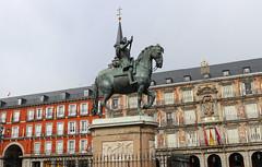 Madrid_0414 (Joanbrebo) Tags: felipeiii plazamayor madrid spain españa estatua statue streetscenes canoneos80d eosd autofocus efs1855mmf3556isstm