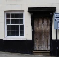 Old door (Badly Drawn Dad) Tags: gbr geo:lat=5236615995 geo:lon=271564007 geotagged leominster ludlow oldstreet shrewsbury shropshire unitedkingdom