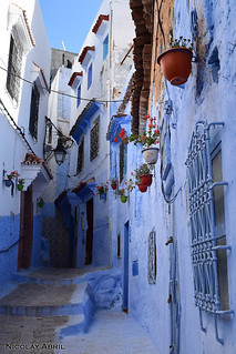 Chefchaouen alleys (Morocco)