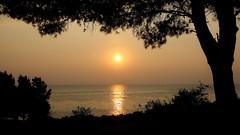 Sunrise somewhere in the Greece (superhic) Tags: sunrise sunset greece sea sun summer izlazaksunca leto grčka 2016