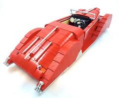 1939 Delahaye 136 (Lino M) Tags: delahaye 1939 165 136 red tan lego lug nuts build challenge french connection car deco lino martins retro classic cars france
