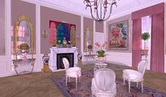 Chateau de Croy (Duchesse de Croÿ et d'Havre) Tags: secondlife serenya burnstein luxury chateau interior classy chic glamour classical decoration virtual