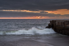 Last Rays (AgarwalArun) Tags: sonya7m2 sonyilce7m2 sony puertovallarta mexico ocean water waves surf landscape bahíadebanderas bay sunrise sunset reflections cluds storm