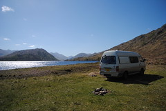 Loch Arkaig - day 2 (What I saw...) Tags: loch arkaig highlands scotland toyota hiace campervan