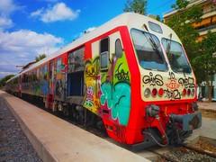 train (try...error) Tags: kalamata peloponnes mediterranean graffiti graffito street art streetart eisenbahn greece peloponnisos