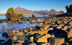 Little Rocks, Big Rocks (SuQ10) Tags: thecuillin isleofskye elgol scotland rocks elgolbeach