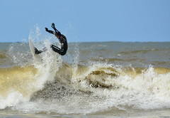 Wave Surfer (vanderven.patrick) Tags: waves watersports wavesurfing sea ocean water surf surfer surfing duindorp beach extremesports