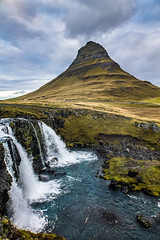 Kirkjufell, Iceland - one more of those photos (Ovcaa) Tags: iceland kirkjufell mountain landscape fall waterfall