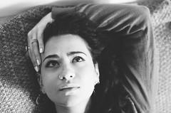 Liana (Teresa Leone) Tags: blackandwhite bw blackwhite biancoenero portrait ritratto woman donna beauty