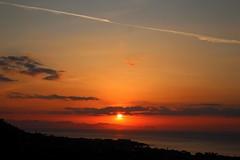 incredible nature (dimatteoeleonora) Tags: cefalù sicilia sicily flickrdiamond home sunset tramonto love landscape sky skyporn skyscape plane italy incrediblenature nature natura blu blue red rosso shape peace country