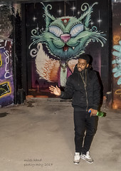Urban Rapper (handmiles) Tags: colour leakestreet man person street streetphoto streetphotography rapper graffiti art tunnel capital city london indoor inside sony sonya77mark2 sonya77m2 tamron tamron18270mm