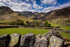 Somewhere off the A529 (eyecandyclick) Tags: a529 stonewall clouds exposure lakes lakedistrict landscapephotography boarder england unitedkingdom cumbria tranquil serenity view wide angle lens