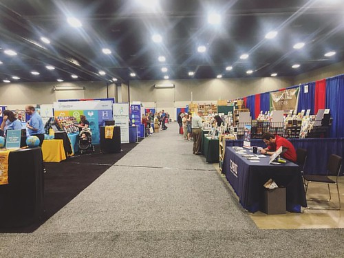 Loved tromping through the booths, learning, and talking with amazing people today at the homeschool convention. It is a great feeling to map out our next steps in this beautiful journey! #takeallmymoney #homeschool #homeeducator