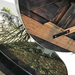 triumph of the technocrat reflection at The Lauren (roland) Tags: thelauren triumpofthetechnocrat art publicart reeceteris reeceterris reflection mirror vancouver westend 1051broughton broughton 1051