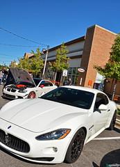 Maserati GranTurismo (Chad Horwedel) Tags: maseratigranturismo maserati granturismo sportscar white supercarsaturday promenademall bolingbrook illinois