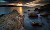 Suns reflection (lynamPics) Tags: 5dmkii australia canon queensland beach leefilters longexposure ocean pallarenda rocks sunrise townsville zeiss