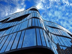 One Jackson Square (TheMachineStops) Tags: 2017 outdoor nyc newyorkcity manhattan glass facade jacksonsquare lookingup undulating curved architecture building geometrie geometry westvillage
