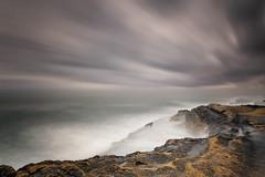 Temporal-en-El-Cabo (canonixus1) Tags: cabohuertas sanjuan amanecer dawn escaleras nubes clouds temporal tormenta largaexposicion longexposoure movimiento filtros nisi canonixus1 canon6d canon1740 angular