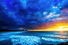 Surfers at sunset - The South-beach - Hertzelia (Lior. L) Tags: surfersatsunsetthesouthbeachhertzelia surfers sunset thesouthbeach hertzelia sea seascapes beach clouds cloudysunset travel travelinisrael israel telavivbeach