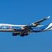 Boeing 747-46NF (ER) - AirBridgeCargo VP-BIK - AMS/EHAM Amsterdam Airport (Schiphol)