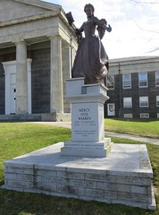 Mercy Otis Warren Monument (Barnstable, Massachusetts) (courthouselover) Tags: massachusetts ma courthouseextras barnstablecounty barnstabletown barnstable statues mercyotiswarren newengland northamerica unitedstates us