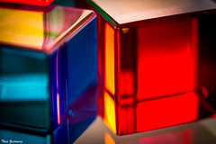 Colors #7 (Thad Zajdowicz) Tags: abstract color blocks composition lightroom canon eos dslr digital availablelight indoor inside montgomerycounty 7d ef100mmf28lmacroisusm cubes lines angles shapes geometric