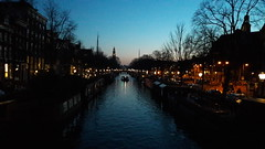 Canal at Sunset (Louisa Mac) Tags: canals sunset prinsengracht amsterdam netherlands
