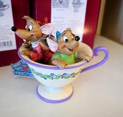 """Waiter, there's a mouse in my tea."" (thinduck42) Tags: ornament disneyland shop cinderella mice panasonic fz1000 anaheim california animation"