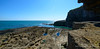 Wave-cut platform at St. Govan's Head, Castlemartin, Pembrokeshire (Kenvyn Davies) Tags: 2012 2014 blue carboniferousperiod celticsea cliffs coast coastal cymru erosion geology limestone nature nikond800e northpembrokeshire ocean outdoors pembrokeshire pembrokeshirecoastnationalpark period sea sky stgovanshead wales walescymru water wavecutplatform westwales pembroke cymruwales