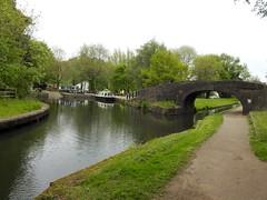 Pontymoile Basin, Monmouthshire-Brecon Canal, Pontypool 6 May 2017 (Cold War Warrior) Tags: canal pontymoile pontypool bridge