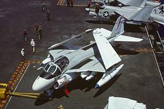 A-6E Intruder 154126 of VA-176 AE-502 (JimLeslie33) Tags: intruder grumman olympus om1 154126 thunderbolts va va176 naval aviation usn navy attack ae ae502 a6 a6e nas oceana uss america cv66 cvw6