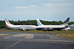 G-THOC Boeing 737-500 EGHH 5/5/17 (David K- IOM Pics) Tags: gthoc boeing 737 737500 737300 b735 b733 eghh boh bournemouth hurn airport n470ag n733uk