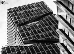 final 50 challenge shot (Robert Stienstra Photography) Tags: architecture architecturalphotography modernarchitecture buildings building lines sky skies skyscraper looking up lookingup amsterdam zuidas creativity finding blackandwhite blackandwhitephotography monochrome monochromephotography monochromatic nikkor50mm 50mm lens 50mm18 nikond7100 robertstienstraphotography