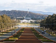 Australian Parliament Building, Canberra (publicdomainphotography) Tags: act activity anzac architecture attraction australia australian avenue blue building canberra capital car city commonwealth day daytime destination famous federal flag govern government highway hill house landmark landscape lane memorial museum new old parade parliament place politics road sky square street territory tourism traffic travel view war