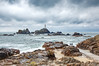 The Three (Rob McC) Tags: corbiere lighthouse maritime landscape seascape jersey sea ocean rocks rugged foreboding causeway waterfront seafront beach shoreline shore
