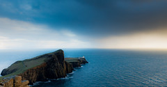 Sunset at Neist Point (lsten) Tags: beforesunset lighthouse spring natureview sharp travelphotography goldenhour water hills sea tripod wideangle amateurphotography iconic landscapephotography canonef2470mmf28liiusm trail road sgùrrnangillean golden view 24mm majestical landscape serenity stunning cliffs theunforgettablepictures f11 peninsula overcast shore magnificent rock naturephotography neistpoint rocks nature isleofskye scotland beautiful sunset clouds beach canoneos5dmarkiv waves seascape scenery sligachan iso800 singleshot